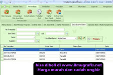 Form Database Obat