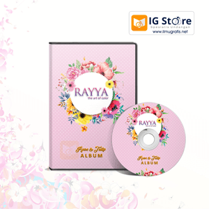 CD DVD Settingan Produk Rayya Rose and Tulip