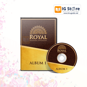 CD DVD Settingan Produk ROYAL