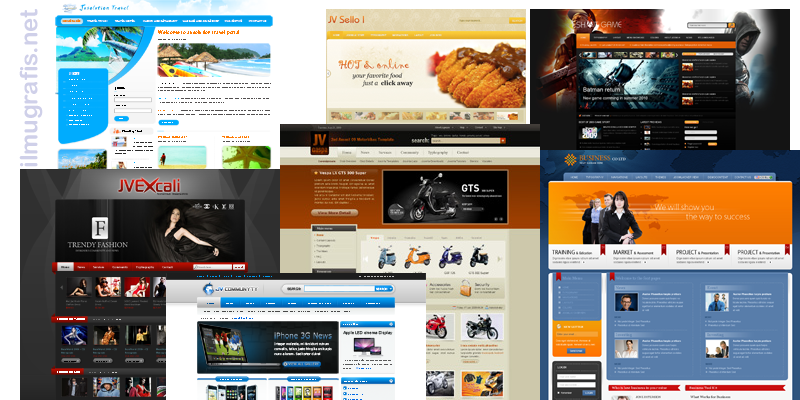 other joomla template